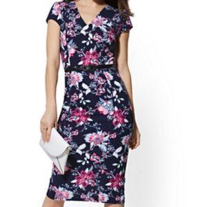 NY & Co Floral Sheath Dress